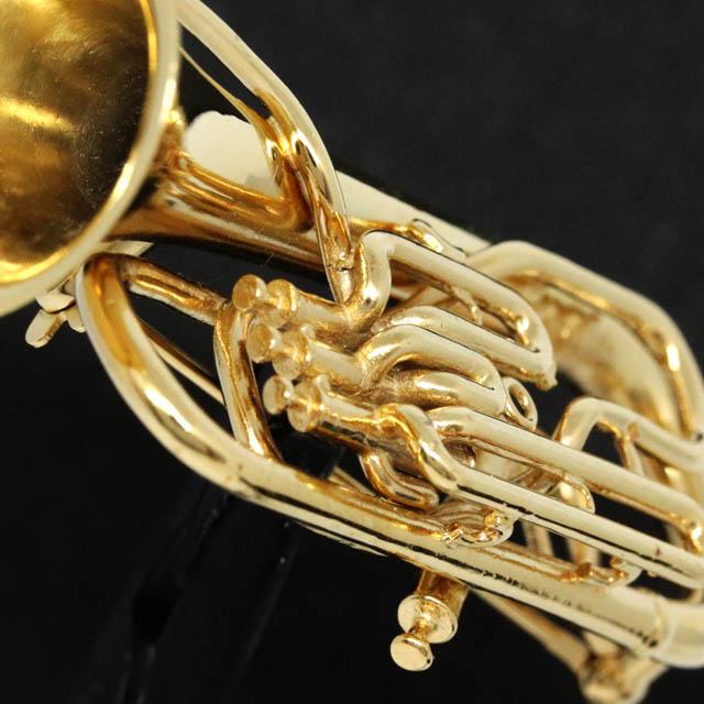 ユーフォニアム Euphonium シルバー ブローチ SV925 音楽雑貨 音楽アクセサリー