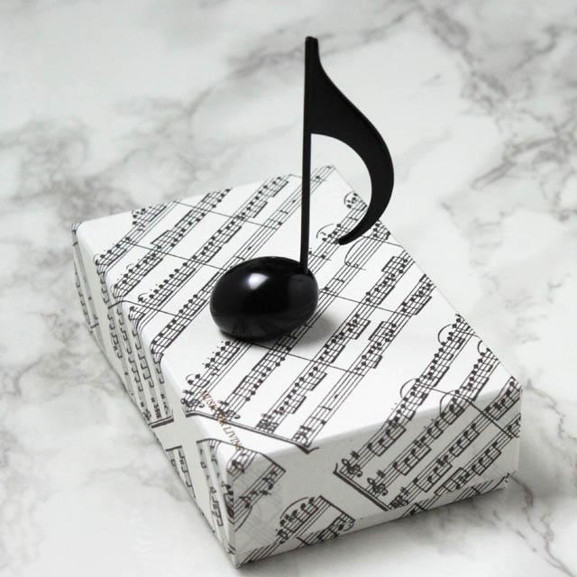 8分音符 文具 カードスタンド 音楽雑貨 音楽ギフト 音楽グッズ