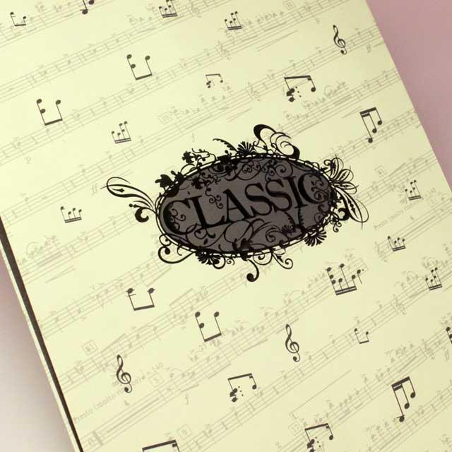 ギフト紙袋 音符 音楽雑貨 音楽グッズ