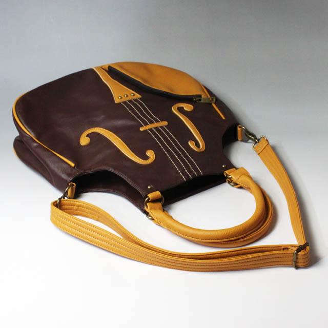 弦楽器 2wayバッグ ヴァイオリンバッグ 音楽雑貨 音楽グッズ 音楽ギフト