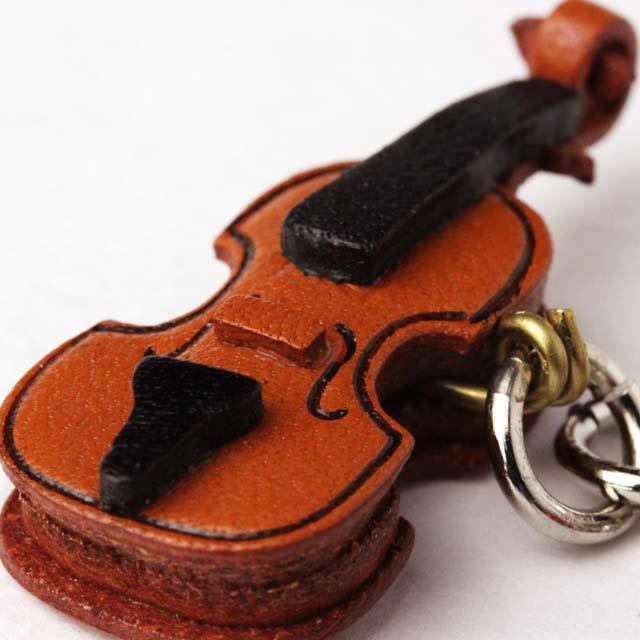 本革製 ブックマーク ヴァイオリン 音楽グッズ 音楽雑貨