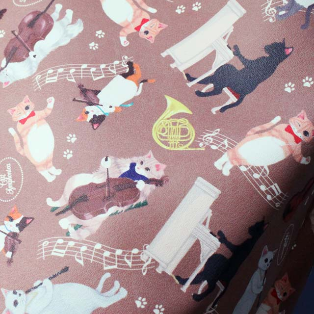 Cat Symphonica 猫耳付 リバーシブル トート 音楽雑貨 音楽グッズ
