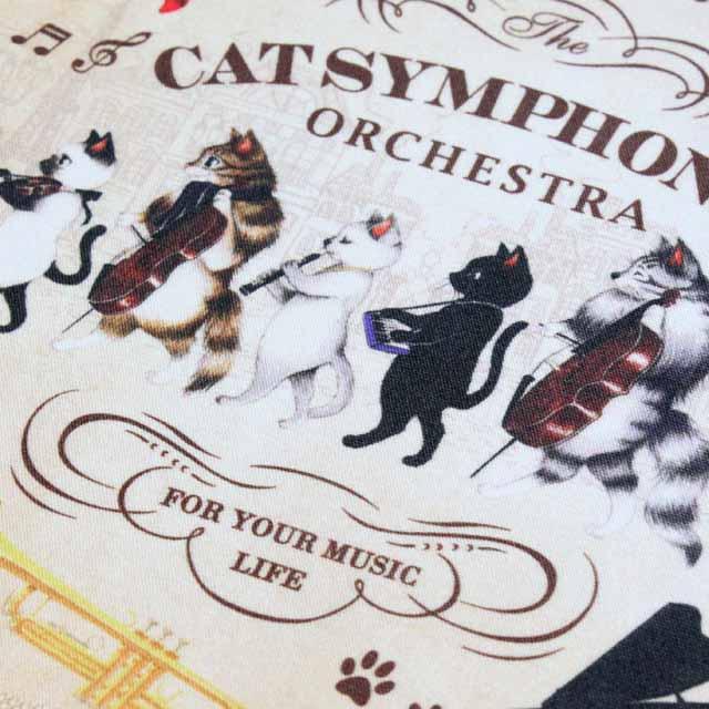 Cat Symphonica マーチ クロス 音楽雑貨