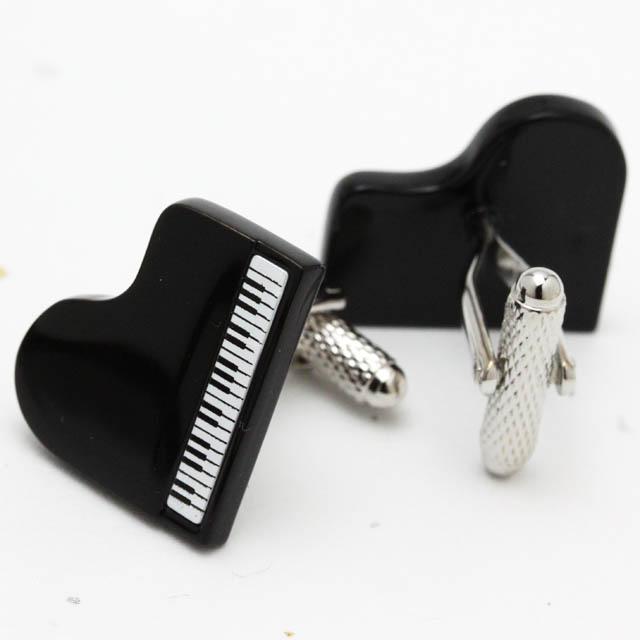舶来 カフスボタン グランドピアノ 音楽雑貨
