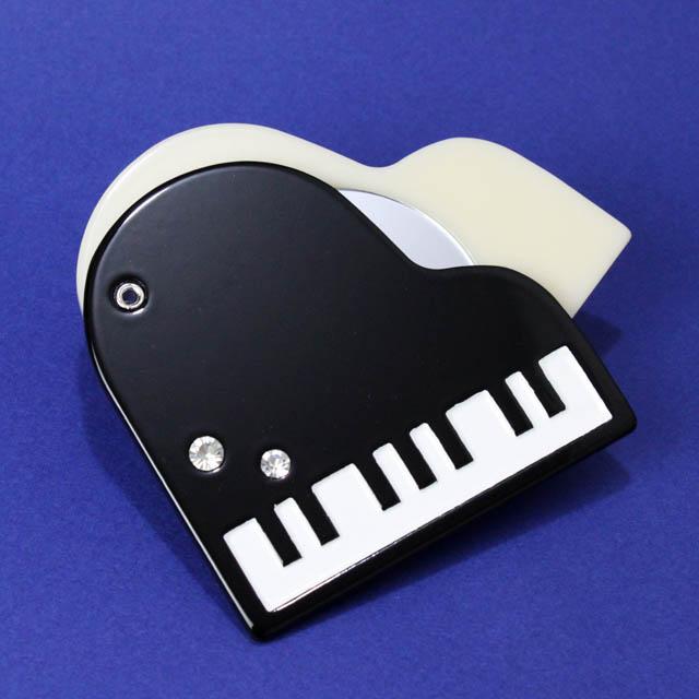 スライドミラー グランドピアノ 音楽雑貨 音楽グッズ