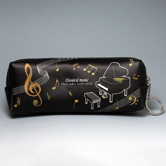 スクエア ペンポーチ グランドピアノ 音楽雑貨 音楽グッズ