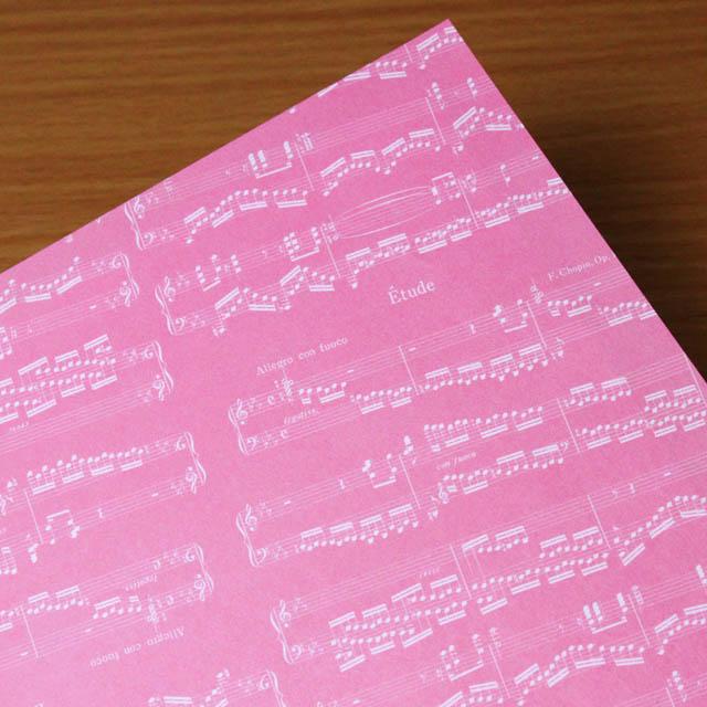 クラフト折り紙 ショパン 音楽雑貨