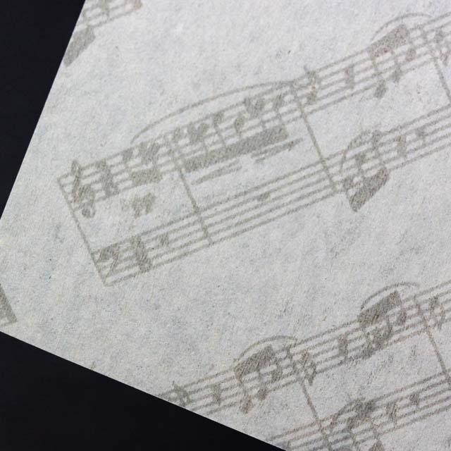 楽譜あぶらとり紙 クリーニングペーパー ヴァイオリン 音楽雑貨