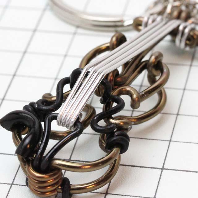 wire art ワイヤーアート ヴァイオリン Violin 音楽雑貨 音楽グッズ