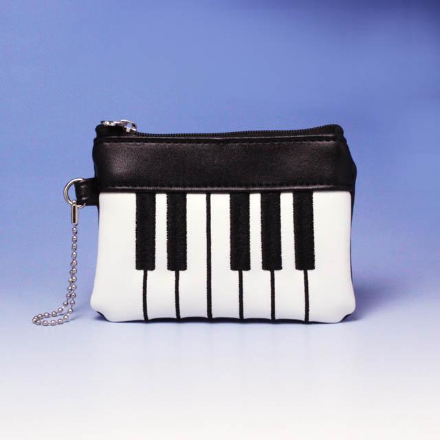 ピアノ 鍵盤 コインケース 音楽雑貨