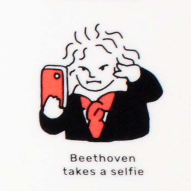 Beethoven ベートーヴェン クリアファイル 百面相 音楽雑貨