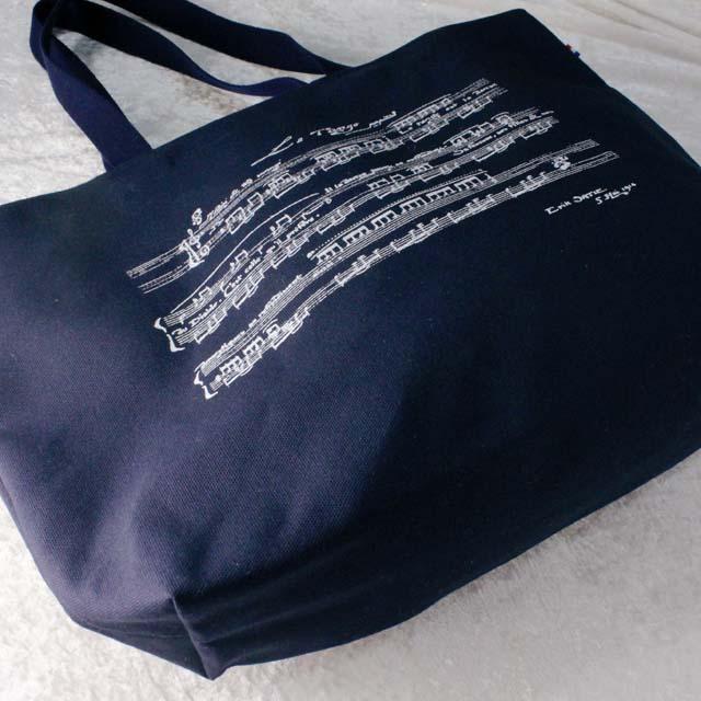 サティ 永久のタンゴ Le Tango perpetual トートバッグ 帆布 音楽雑貨 音楽グッズ