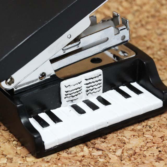 Piano グランドピアノ ステープラー 音楽雑貨 音楽グッズ