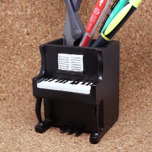 Piano アップライトピアノ ペンスタンド 音楽雑貨 音楽グッズ