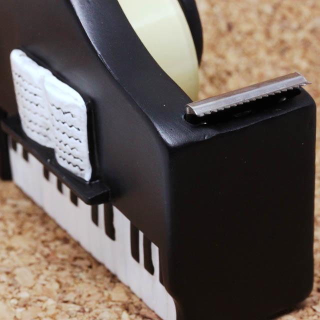 Piano グランドピアノ テープカッター 音楽雑貨 音楽グッズ
